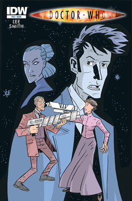 Doctor Who #15 cover