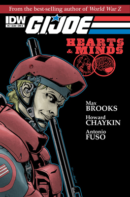 G.I. Joe: Hearts and Minds #5 cover
