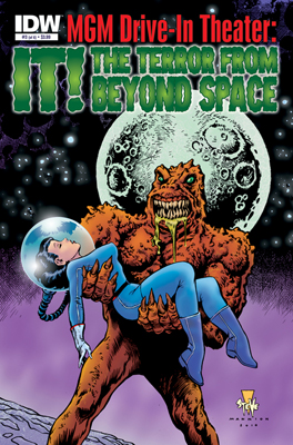 MGM Drive-In Theater: It! The Terror From Beyond Space #3 cover