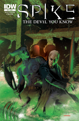 Spike: The Devil You Know #4 cover