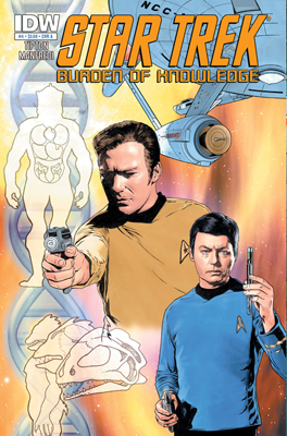 Star Trek: Burden of Knowledge #4 cover