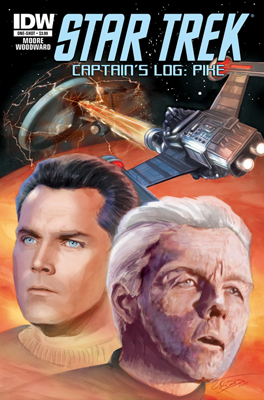Star Trek: Captain's Log: Pike #1 cover