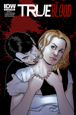True Blood #3 cover