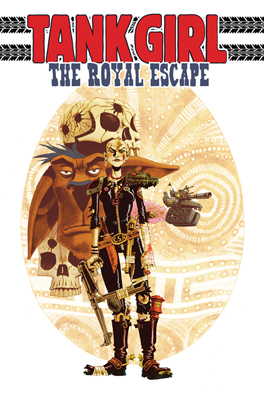 Tank Girl: The Royal Escape TPB cover