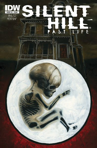 Silent Hill: Past Life #1 cover