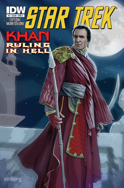 Star Trek: Khan: Ruling in Hell cover A