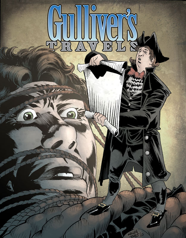 Gulliver S Travels Book Cover Drawing : Idw december books publishing
