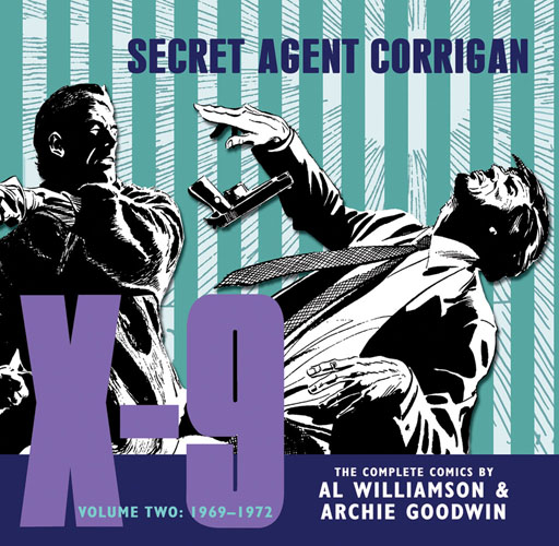X-9: SECRET AGENT CORRIGAN, VOL. 2 cover