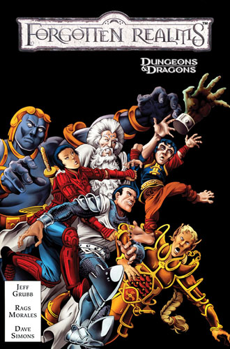 DUNGEONS & DRAGONS CLASSICS: FORGOTTEN REALMS VOL. 1 TPB cover