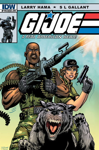 GI JOE: Real American Hero #163 cover a
