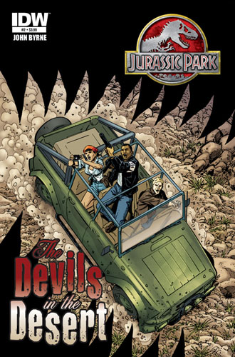 JURASSIC PARK: THE DEVILS IN THE DESERT #2 cover