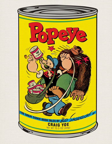 POPEYE: THE BEST COMIC BOOK STORIES OF BUD SAGENDORF cover