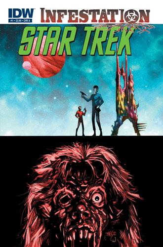 Star Trek: Infestation #1 cover A