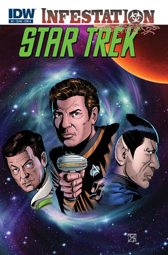 Star Trek: Infestation #2 cover a