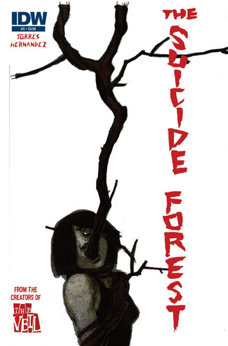 THE SUICIDE FOREST #3 cover