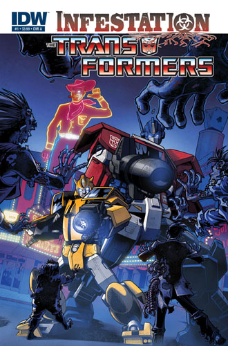 Transformers: Infestation #1 cover a