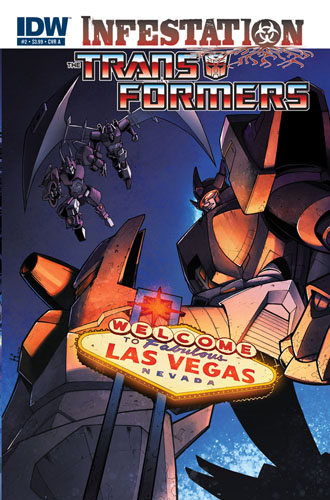 Transformers: Infestation #2 cover a
