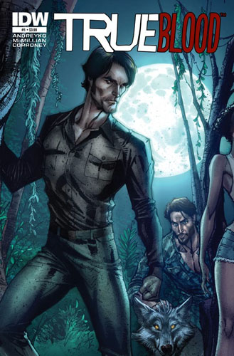 TRUE BLOOD Tainted #1 cover
