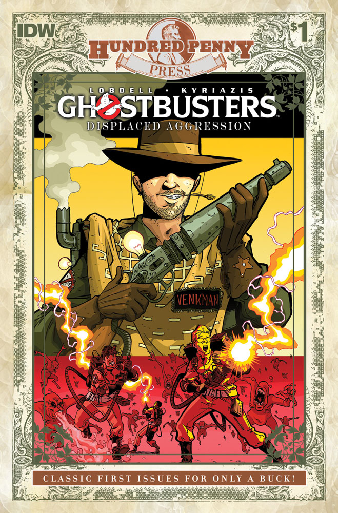GHOSTBUSTERS: DISPLACED AGGRESSION #1 Hundred Penny Press Edition cover
