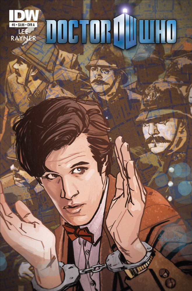DOCTOR WHO #3 cover A