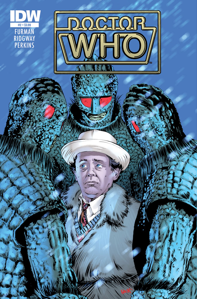 DOCTOR WHO CLASSICS: THE SEVENTH DOCTOR #2 cover