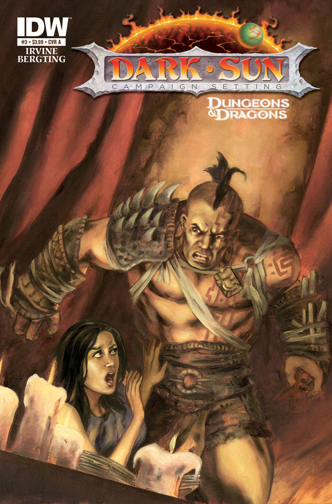 Dungeons and Dragons: DARK SUN #3 cover A