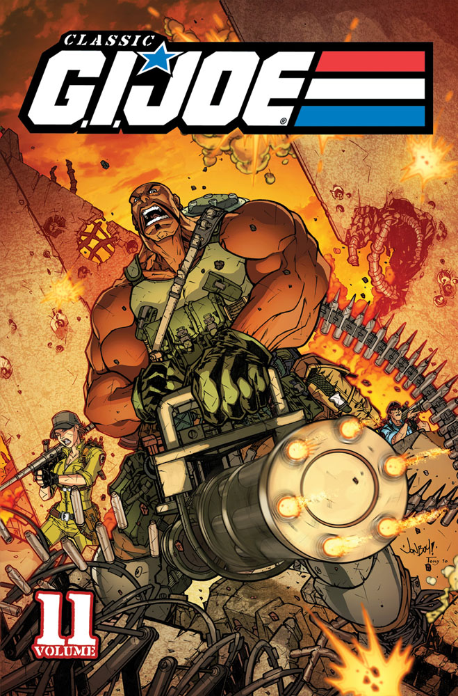 CLASSIC G.I. JOE, VOL. 11 cover