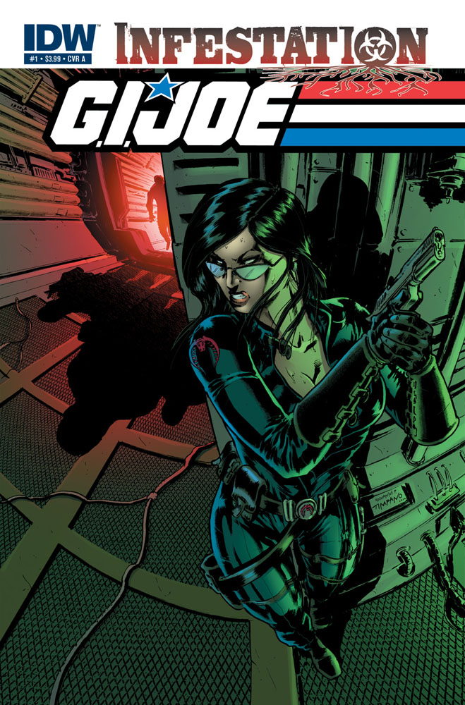 G.I. JOE: INFESTATION #1 cover A