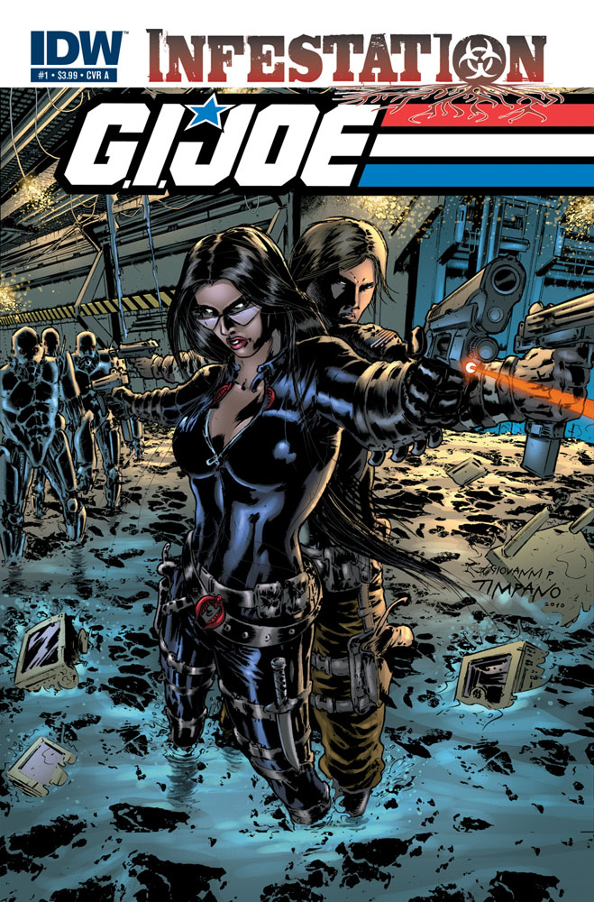 GI JOE: Infestation #2 cover A