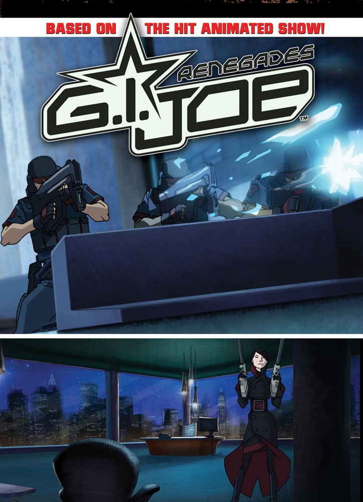 G.I. JOE: RENEGADES, Vol. 4 cover