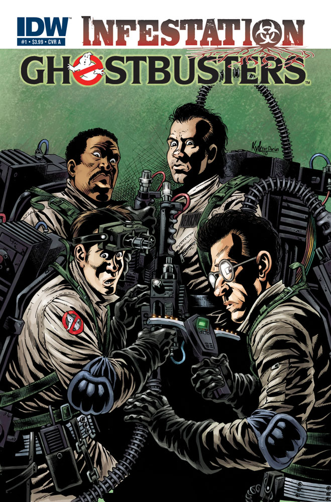 GHOSTBUSTERS: INFESTATION #1 cover A