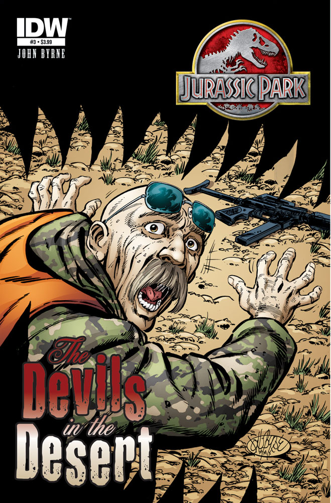 JURASSIC PARK: THE DEVILS IN THE DESERT #3 cover