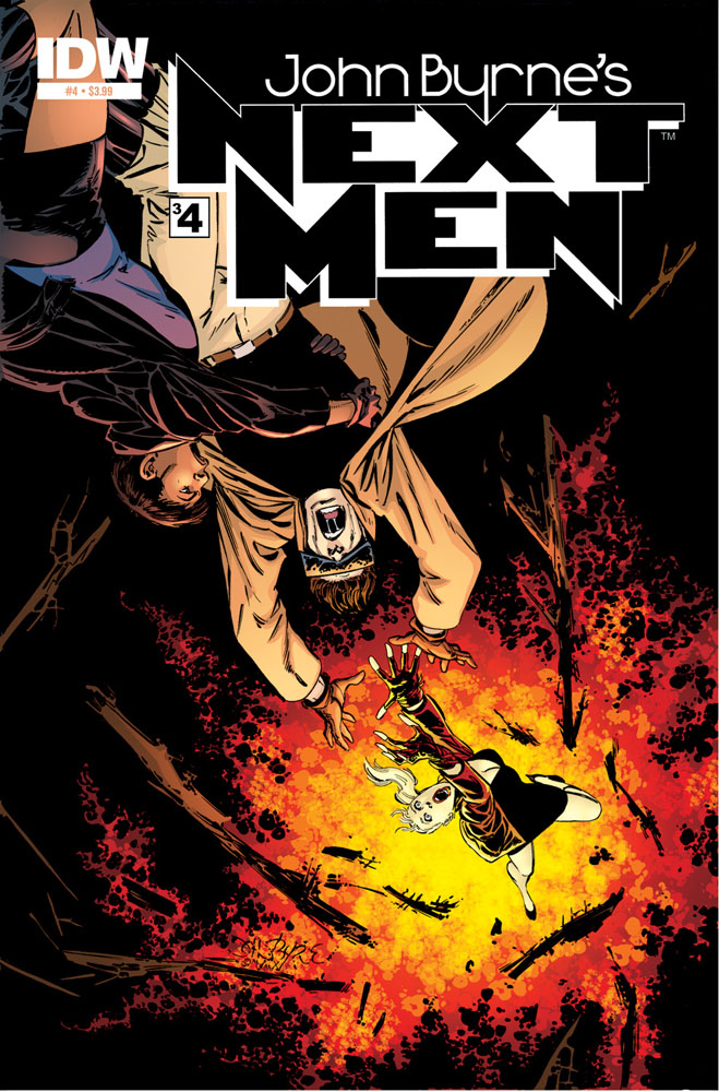 JOHN BYRNE'S NEXT MEN #4 cover
