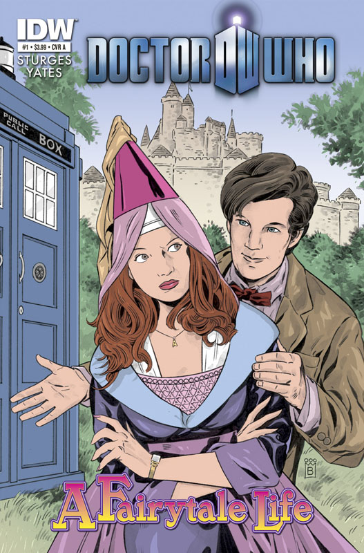 Doctor Who: A Fairytale Life #1