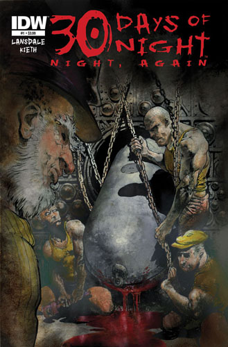 30 Days of Night: Night, Again #1 cover