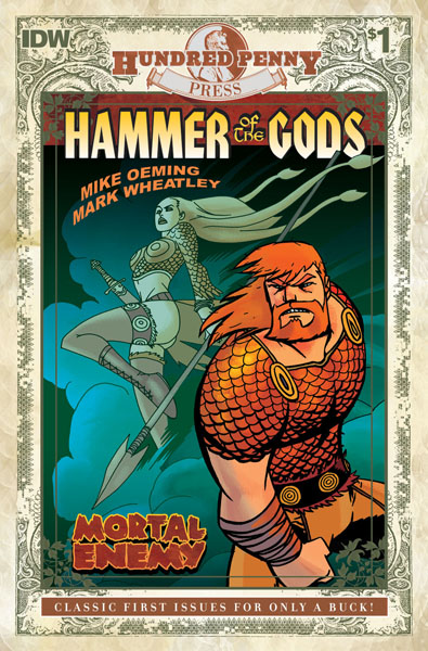 100 Penny Press: Hammer of the Gods #1