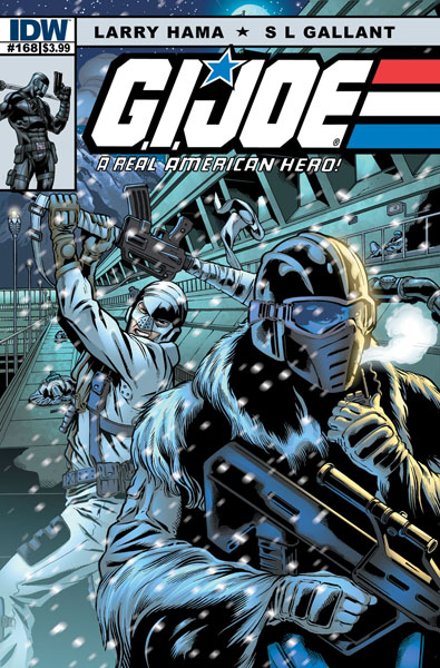 G.I. JOE: Real American Hero #168