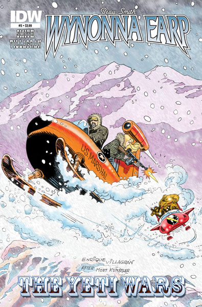 Wynonna Earp: The Yeti Wars #3
