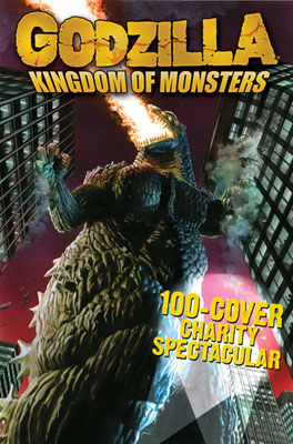 Godzilla: 100 Cover Charity Spectacular