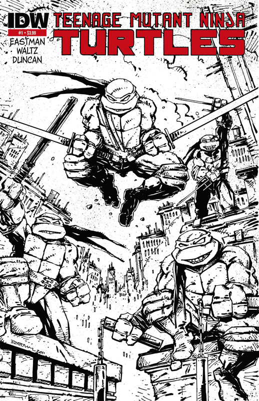 Debut Teenage Mutant Ninja Turtles Comic Sells Out IDW Publishing