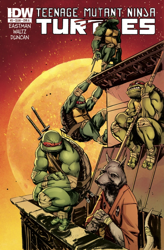 Teenange Mutant Ninja Turtles #3