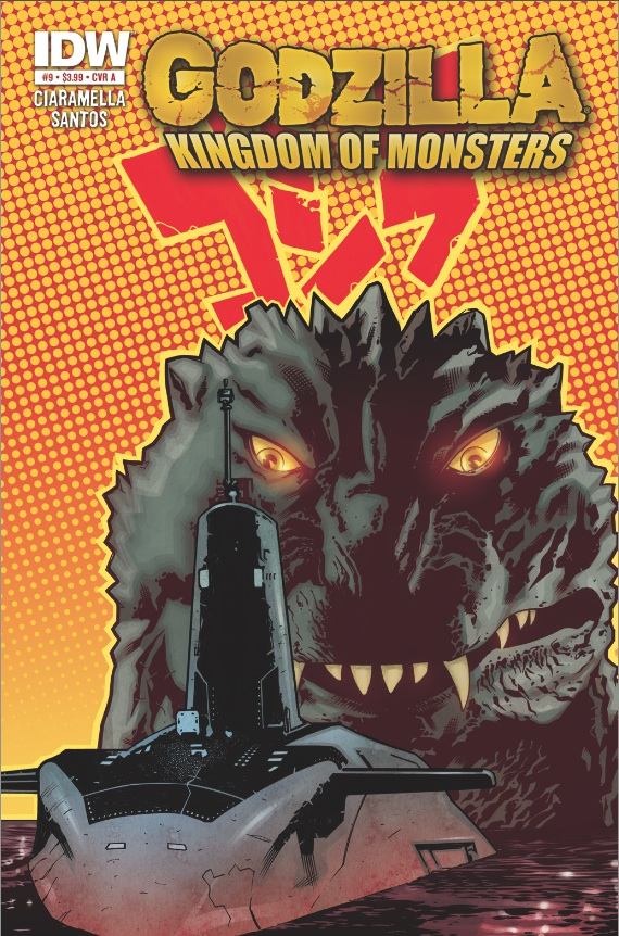 Godzilla: Kingdom of Monsters #9