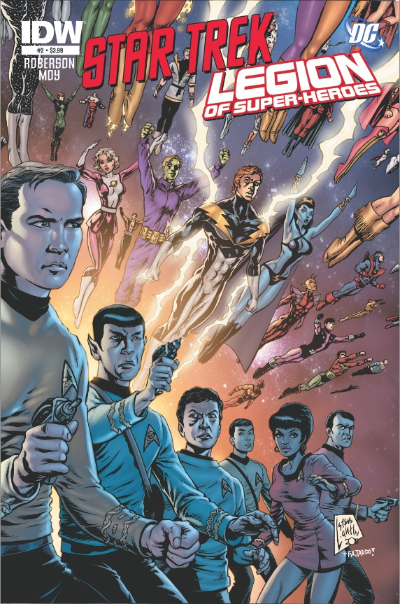 Star Trek/Legion of Superheroes #2