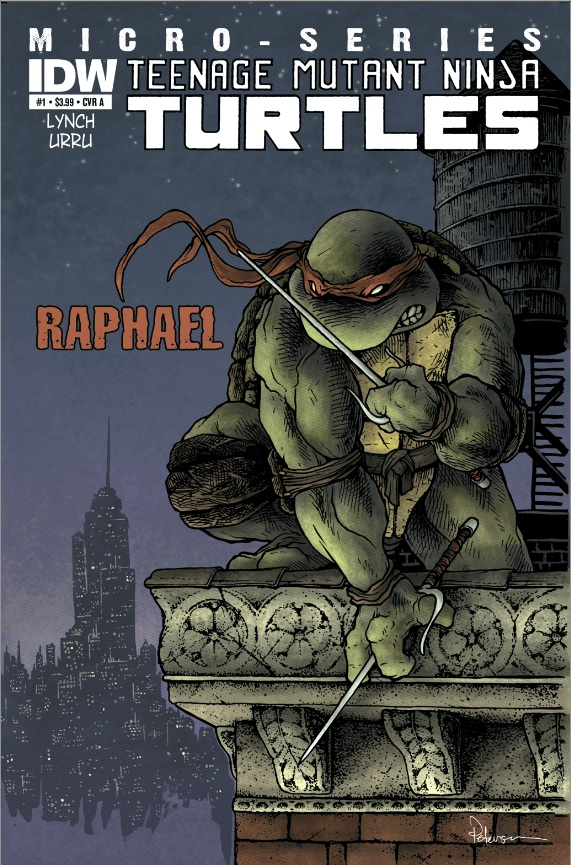 Teenage Mutant Ninja Turtles: Microseries #1: Raphael