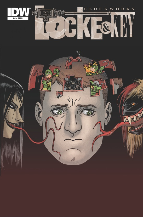 Locke & Key: Clockworks #4