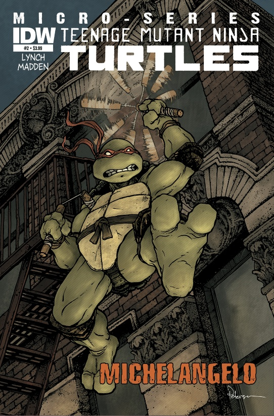 Teenage Mutant Ninja Turtles: Microseries #2: Michelangelo