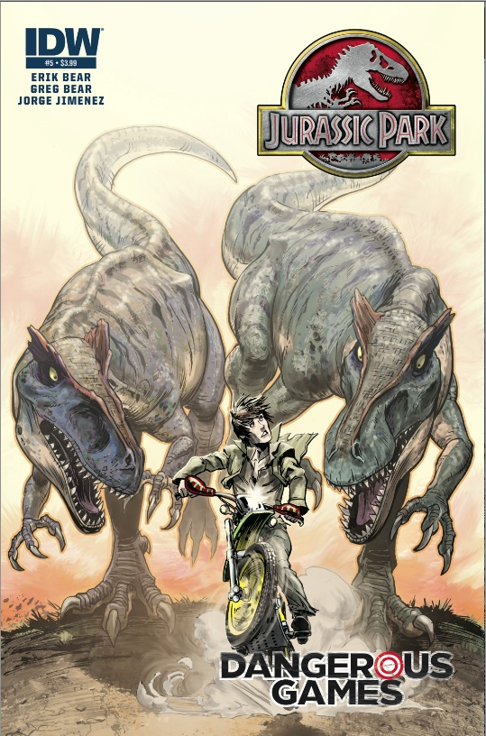 Jurassic Park: Dangerous Games #5