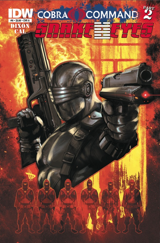 Snake Eyes Ongoing #9