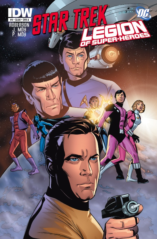 Star Trek/Legion of Superheroes #4