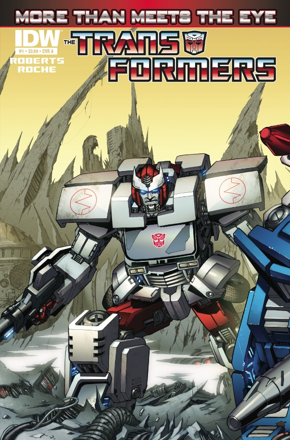 Transformers: More Than Meets the Eye #1